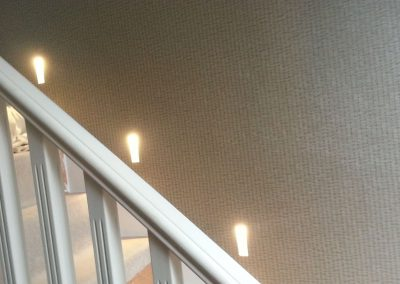 Stairwell and bathroom bespoke Led lighting designs